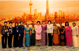 ACWF Hosts Reception for Women of China and from Overseas