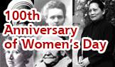100th Anniversary of International Women
