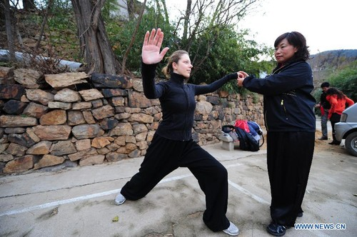 A France Girl's Life with Chinese Kung Fu and Taiji - All China