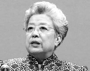 Wu Yi, vice premier of the State Council, was regarded as the Iron Lady of Chinese diplomacy. [cpc.people.com.cn]