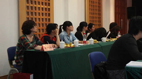 Shanghai Academy of Social Sciences (SASS) plays host to the New Media and Gender Culture Forum on May 3, 2012. [Women of China]