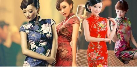 The qipao, also known as the cheongsam, is a figure-hugging, one-piece traditional Chinese dress for women. [ifeng.com]