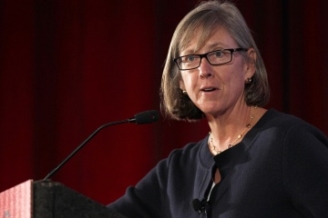 Mary Meeker speaks at the Web 2.0 Summit in San Francisco on Oct. 18, 2011. [time.com]