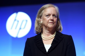 Hewlett-Packard President and CEO Meg Whitman looks on during the Global Influencer Summit 2012 in Shanghai, China on 10 May 2012. [time.com]