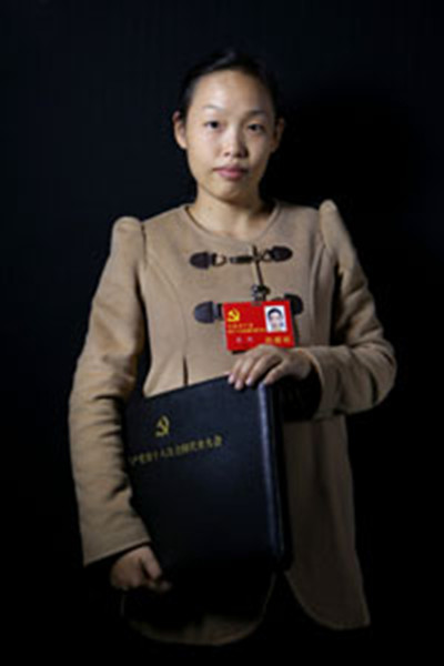 Su Ling, a rural migrant worker and a member of south China's Hunan delegation to the ongoing 18th National Congress of the Communist Party of China (CPC), proposed at the congress that textile workers should be given early retirement because of their demanding workload. She also suggested that enterprises offer employees low-priced accommodation. Su became a CPC member in July 2008, and currently works for the Changde-based Yunjin Group, a textile company. [xinhuanet.com]