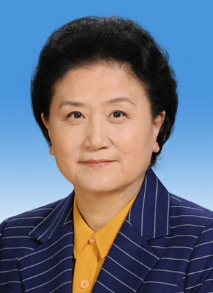 Liu Yandong is member of the Political Bureau of the CPC Central Committee; vice premier; member of the Leading Party Members' Group of the State Council. [Xinhua]