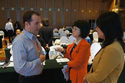 James Lang from Partners for Prevention in interview [Women of China/An Yi]