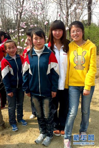 Disabled Youth Rep Dedicated to Volunteering - All China Women's