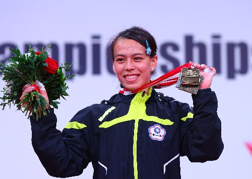 Chinese Taipei Kuo Hsing-Chun Wins Gold at World Weightlifting Championships