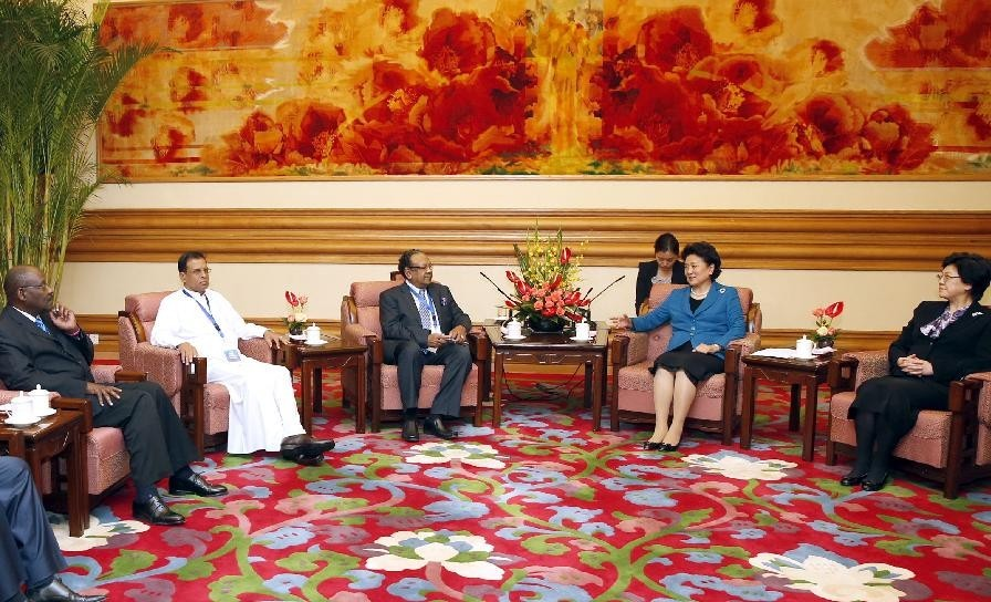 Liu Yandong Meets Representatives of SSCPOP Inter-Ministerial Conference