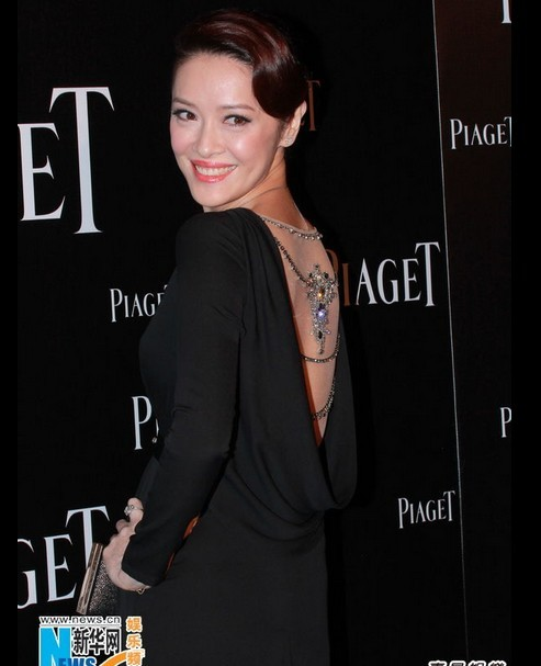 Gong Li Attends Piaget Commercial Event in HK