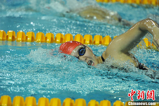 Ye Shiwen Wins Gold  at Chinese National Championships
