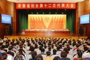 ACWF VP Encourages Anhui Women to Pursue 'Chinese Dream'