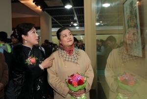 Zhejiang Holds Exhibition of Chinese Female Artists' Works