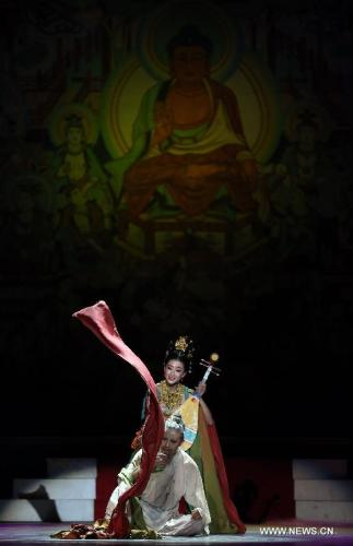 Chinese classic dance drama hits frankfurt stage all for Classic dance tracks