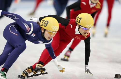 China Disqualified in Women's 3,000m Relay in Sochi