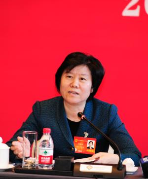 ACWF President Joins Discussion with Zhejiang Delegation