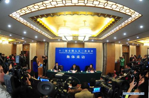 NPC Deputies Give Press Conference on Education Reform