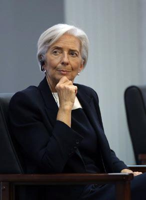 IMF Head Christine Lagarde Offers Ideas on Chinese Women's Leadership