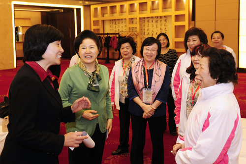 ACWF Vice President Meets with Hong Kong Women's Delegation