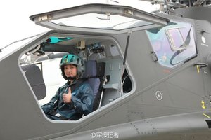 China Sees First Female Attack Helicopter Pilots