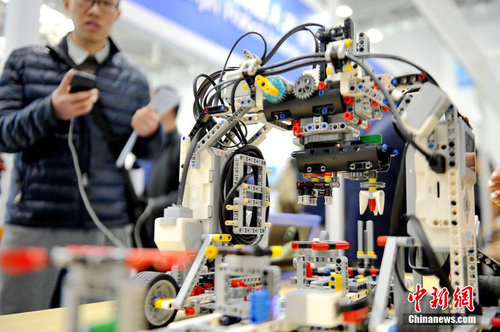 equipment manufacturing robot expo shows chinese smart manufacturing dream all china