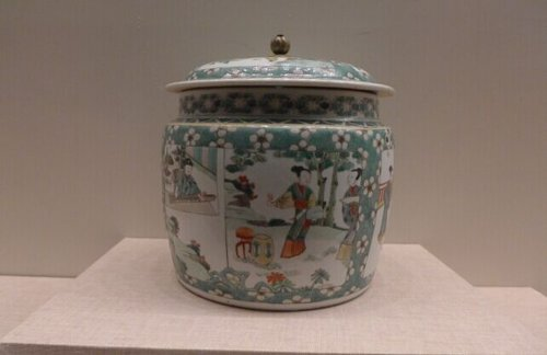 Imperial Kiln Porcelain in Qing Dynasty Exhibited in Beijing
