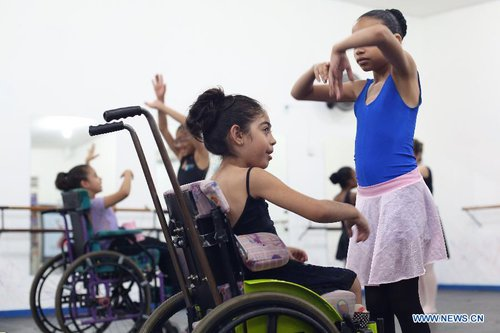 wheelchair dancers mark int l day of the girl child in brazil all