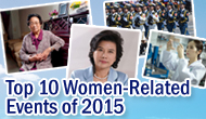 Top 10 Women-Related Events of 2015