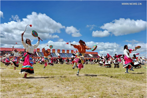 Horse Racing Festival Kicks Off in Southwest China's Tibet