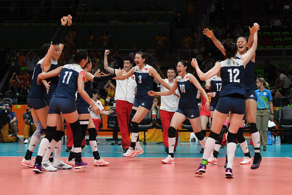 Chinese Women's Volleyball Team Enters Rio Olympic Final ...