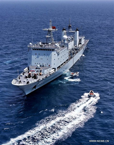 China-Russia Naval Joint Drill Held in South China Sea
