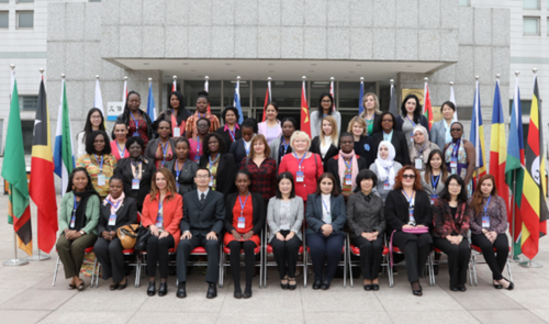 CWU Opens 2016 Seminar on Gender and Development for Female Officials from Developing Countries