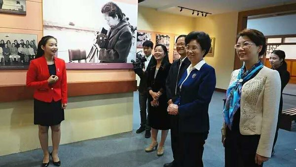 ACWF's VP Holds Inspection Tour on Women's Poverty Relief in Nanning