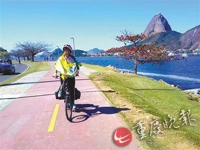 68-Yr-Old Intrepid Granny Cycles to Rio for Olympics