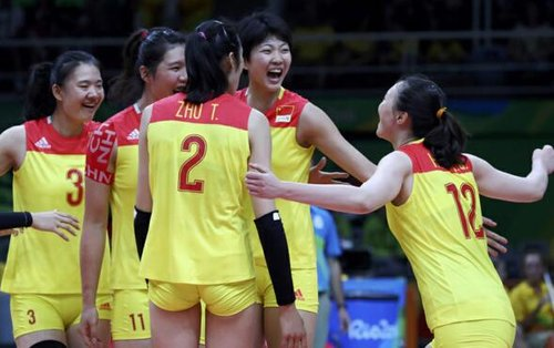 Chinese Women's Volleyball Team Nominated for 2016 AIPS Best Team