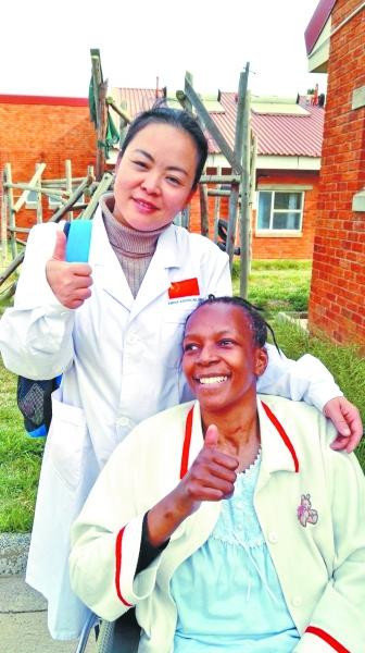 Female Medic Shares Relief Trip in South Africa