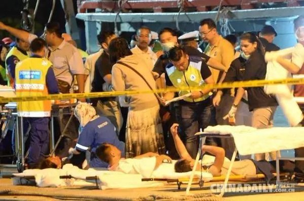 Chinese Survivors: Strong Faith in Their Homeland and Family after Tourist Boat Sinks off Malaysian Coast
