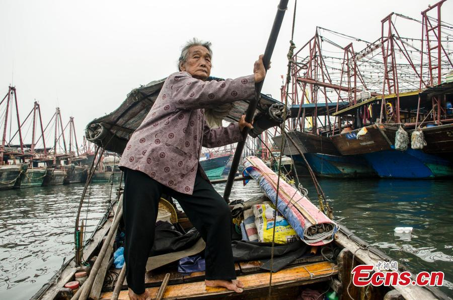 80-Year-Old Woman Rows Boats for 30 Years