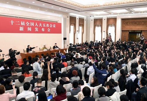 Govt Spokesperson Fu Ying Answers Queries at NPC Press Conference