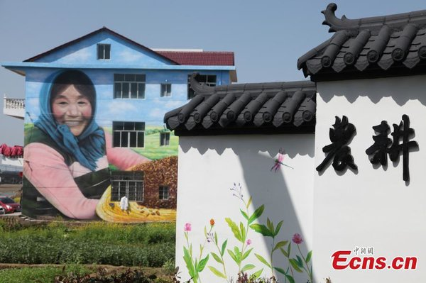 Giant 3D Paintings Attract Visitors to Remote Village
