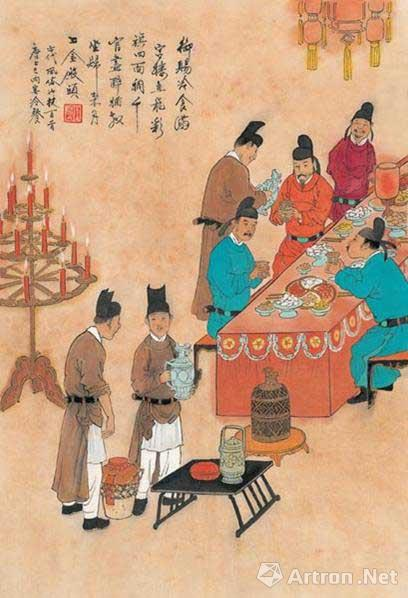 qingming festival as depicted in ancient paintings all