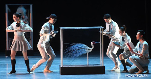 Dance Drama 'Crested Ibises' Staged in Guangxi
