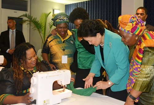 ACWF Donates Sewing Machines to ANCWL of South Africa
