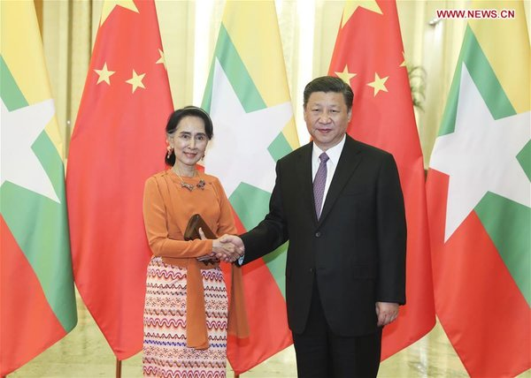 China Willing to Assist Myanmar in Internal Peace Progress: President Xi