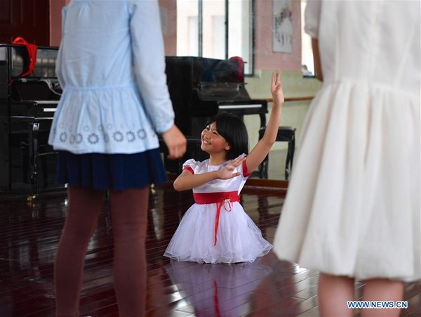 Angel Without Wings: 12-Year-Old Girl's Dancing Dream