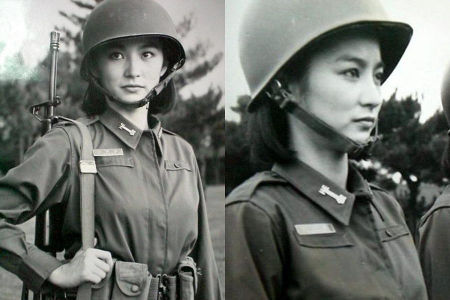 women soldiers Chinese