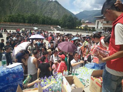 Local Women's Federations Join Rescue, Relief Work after SW China Quake