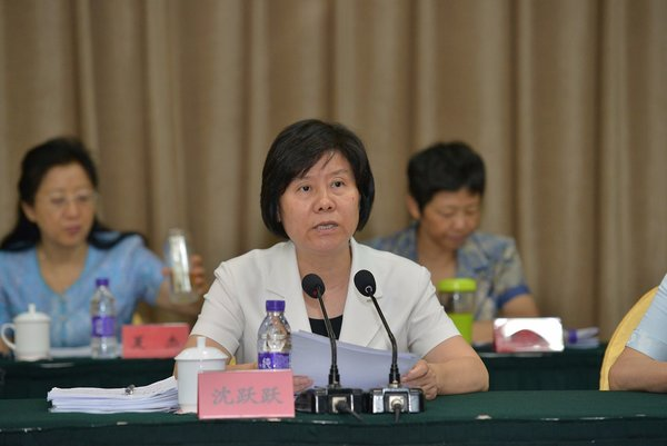 ACWF President Calls on Members to Implement Xi's Speech, Deepen Reform, Embrace Upcoming Congress