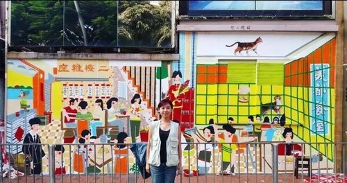 Young HK Artist Illustrates Historic Shop Fronts